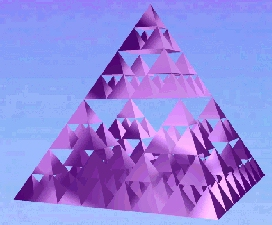 Small version of  a power 3 Sierpinski pyramid